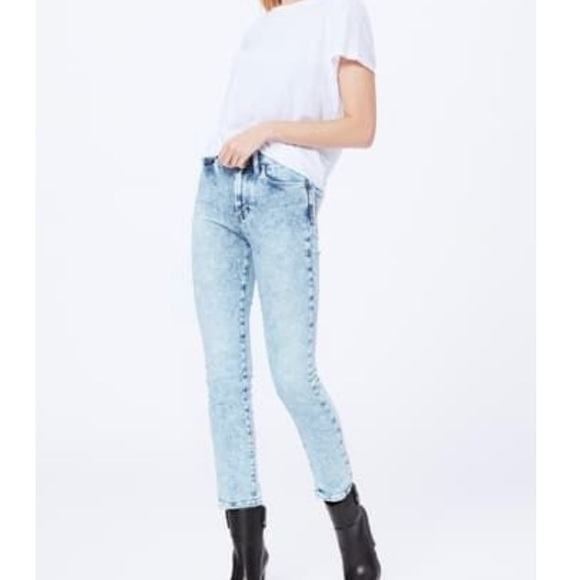 PAIGE Denim - PAIGE 'HOXTON SLIM' in acid wash